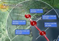 Harvey Will Likely Become Hurricane Soon