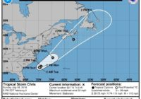 Tropical Storm Chris expected to strengthen, spare NC coast