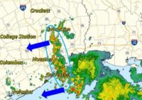 Flood advisory in effect for several areas southeast of Houston