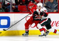 Foegele makes team as Carolina Hurricanes send right message
