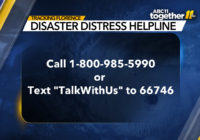 Florence: Here's how to get mental health support after the storm