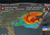 Watch our continuing live Hurricane Florence coverage