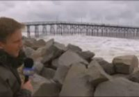 Carolina Beach already feeling effects of Florence