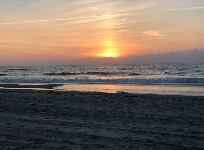 Wrightsville Beach on Friday morning (Source: WECT)