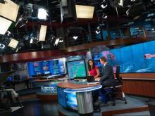 Hurricane coverage behind scenes