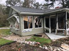Robin Jones shared these photos of her home after Hurricane Florence in New Bern.