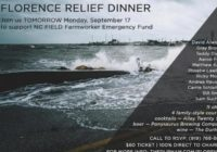 Florence Relief Dinner planned Monday in Durham