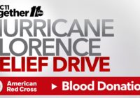 How to donate blood to help Florence victims