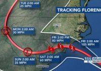 Timeline: When and where will Florence be felt in the Triangle?