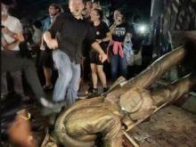 'Silent Sam' Confederate Statue Pulled Down in North Carolina
