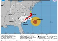Florence now Category 2, but still a very dangerous hurricane