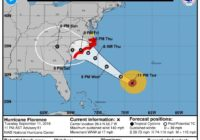 Florence could slow down and pound, drench Southeastern NC
