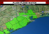WEATHER ALERT: Flash flood watch issued for several southeast Texas counties