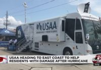 USAA sends catastrophe response team to East Coast to help members affected by Hurricane Florence