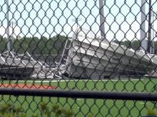 Hurricane Florence damage at UNC-Wilmington
