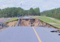 Storm damage devastates community