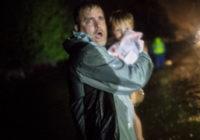 Evacuations begin in Lumberton as Florence passes through