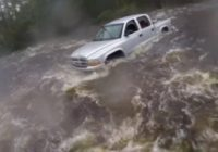 Drone video of flooding in Lumberton
