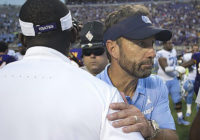 Florence, Pitt, a 12th game. Highlights from UNC coach Larry Fedora's press conference.