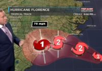 Thousands without power along the NC coast Thursday as Florence approaches