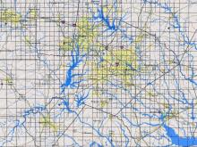 Online map for flooding