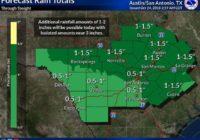 NWS: San Antonio under flash flood watch through Wednesday evening