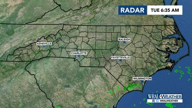 North Carolina Radar