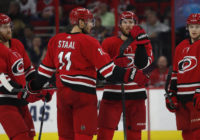 Hurricanes fall to Bruins on home ice
