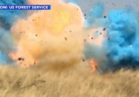VIDEO: Gender reveal party leads to 73-square-mile wildfire in Arizona
