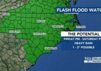NC river flooding forecasts