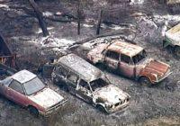 Wildfire razes vast tracts of northeast Australia