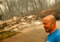 Wildfire death toll rises as search for missing continues