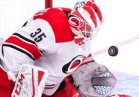 McElhinney makes 48 saves, Hurricanes beat Canadiens 2-1