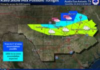NWS: Wildfires a risk in Bexar County due to heavy winds; possible snow in Hill Country
