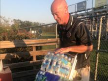 D.H. Conley, J.H. Rose collect supplies for Hurricane Florence victims