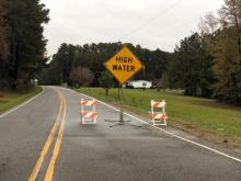 Crews perform 2 water rescues in 24 hours on flooded Sanford road