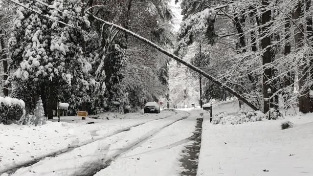 Wake roads improving, more than 125,000 without power in NC