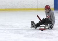 Hurricanes fan with spinal defect brings sled hockey to Raleigh, hopes to recruit new players