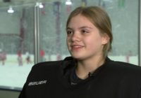 Meet 'Boom,' a girl goalie making noise with the Junior Hurricanes