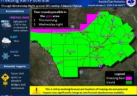 NWS: Rainfall could cause minor flooding in Bexar County