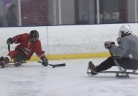 Hurricanes fan with spinal defect brings sled hockey to Raleigh