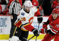 Hurricanes lose to Flames 4-3