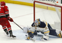 Teravainen's overtime goal lifts Hurricanes to 6-5 win over Sabres