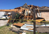 Winds damage homes, hail falls across North Texas