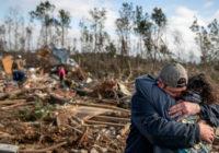 President Donald Trump visiting Alabama county where tornado killed 23
