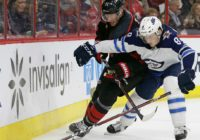 Hurricanes hammered by Jets 8-1