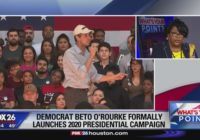 Beto O'Rourke kicks off campaign in Texas