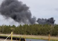 Wildfires spreading across Southeastern North Carolina
