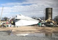 10 tornadoes reported in South, as severe storms continue to sweep across country