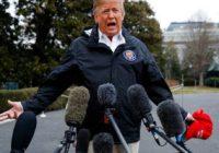 Trump surveys devastation, pays respects to tornado victims